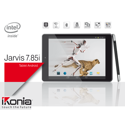 IKONIA TABLET JARVIS7.85i Intel Atom IPS