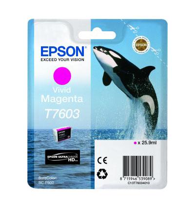 Epson T7603 Ink Jet Vivid Magenta
