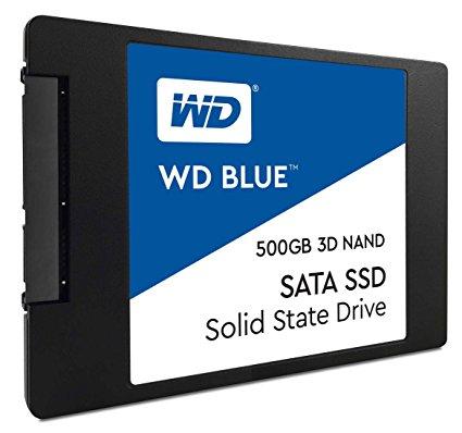 WD Blue 3D SSD 500GB SATA-6Gb