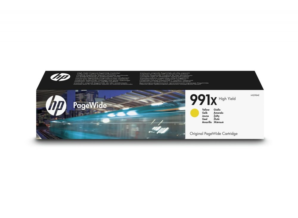 HP F6T77AE HP 991X INK GIALLO PAGEWIDE