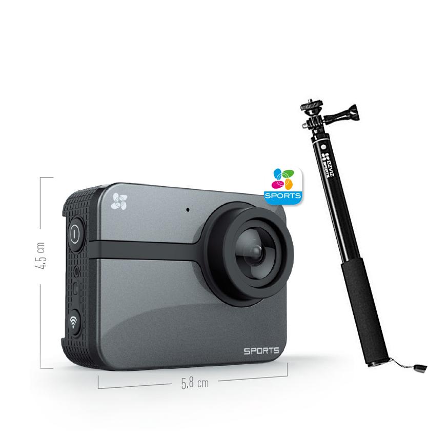 EZVIZ Sport camera S1C FULL HD + SELFIE