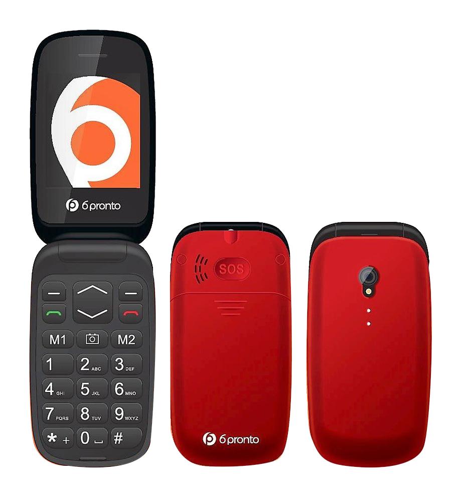 6PRONTO FLIP Telefono Senior