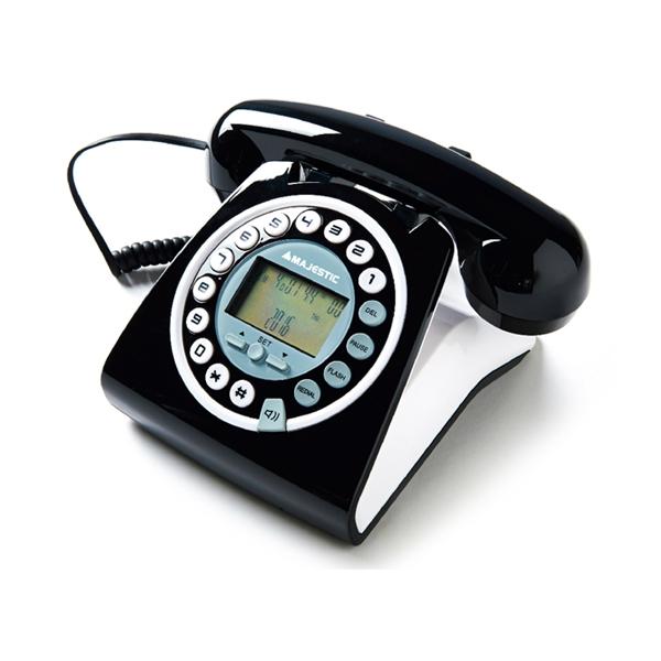 MAJESTIC TELEFONO FISSO PHF-MAX-252 BK