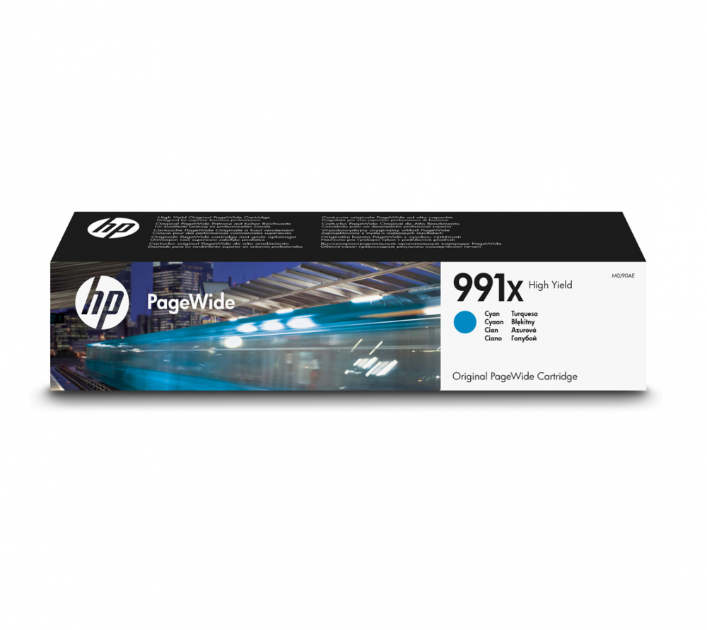HP F6T77AE HP 991X INK CIANO PAGEWIDEDE