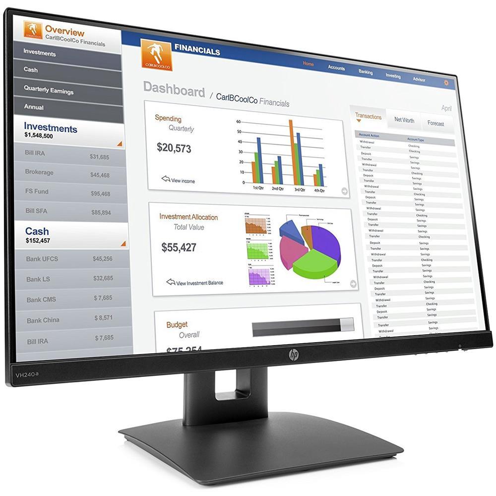 HP 23.8 Monitor 16:9 1KL30AA