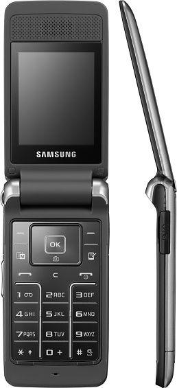 SAMSUNG S3600 BLACK SILVER