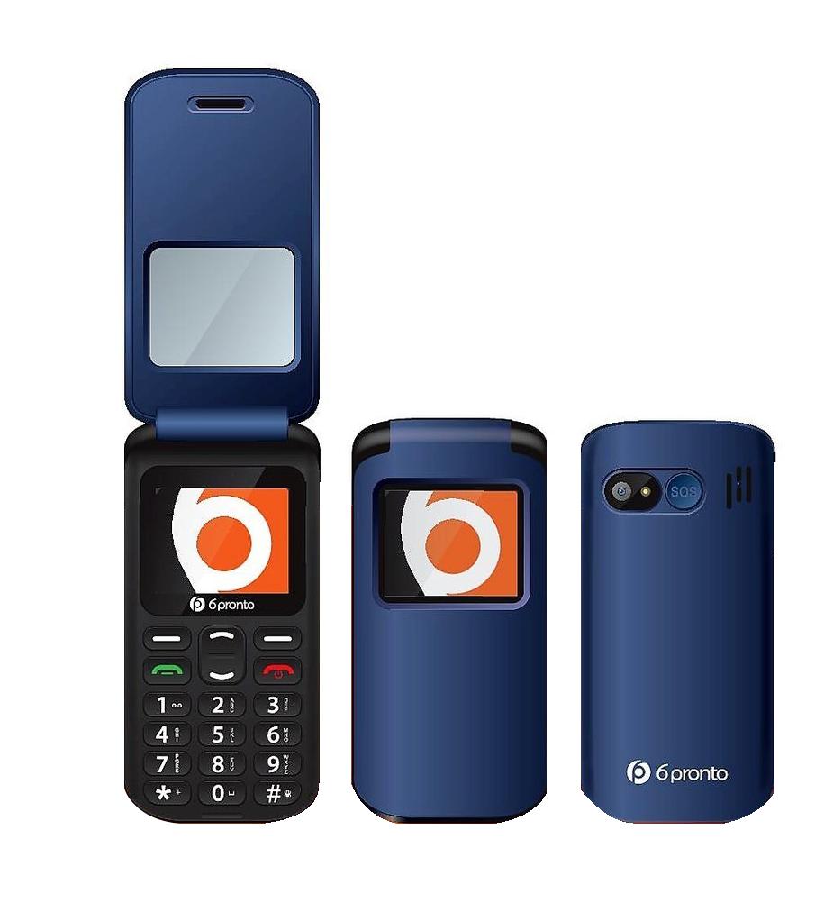 6PRONTO FLIP DUO Telefono Senior