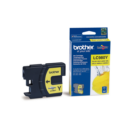 BROTHER LC-980Y INK JET GIALLO
