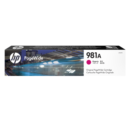 HP J3M69A 981A TONER MAGENTA PAGEWIDE