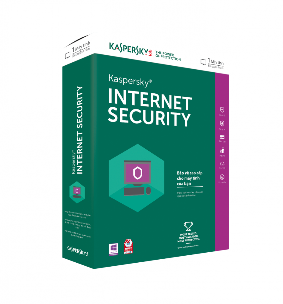 Kaspersky Int. Sec. 2018 ita 1User 1Y R