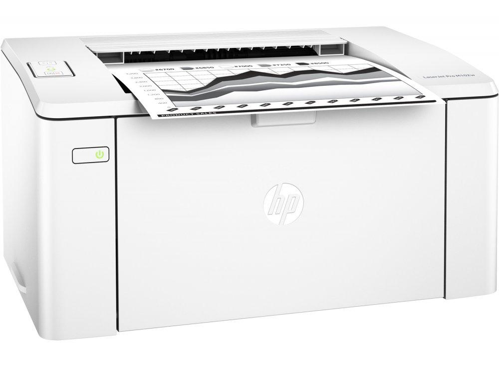 HP Stampante LaserJet Pro M102w ^