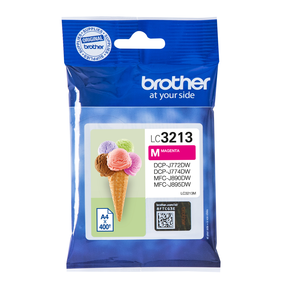 Brother Lc-3213m Ink Jet Magenta