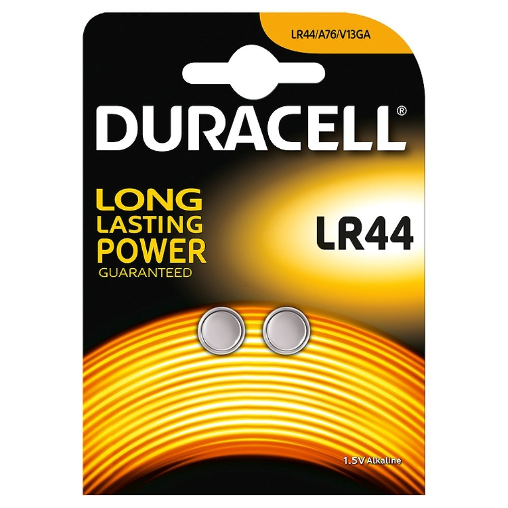 DURACELL LR44/V13GA - 1,5volt - Bl 2Pz
