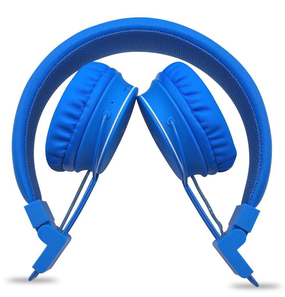 NODIS Cuffia Bluetooth Stereo Blu
