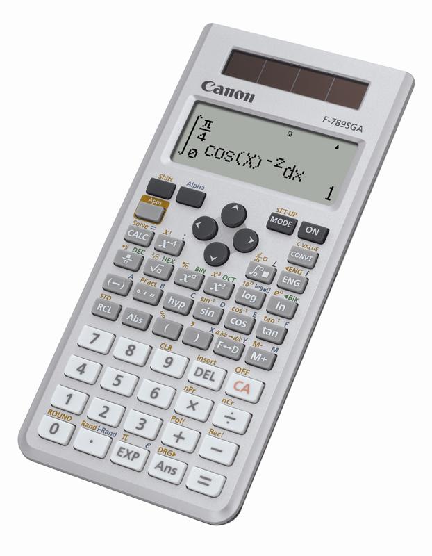 Canon Calcolatrice F-789SGA EMEA DBL