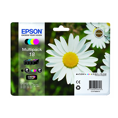 EPSON XP-102 T180640 INK JET MULTIPACK