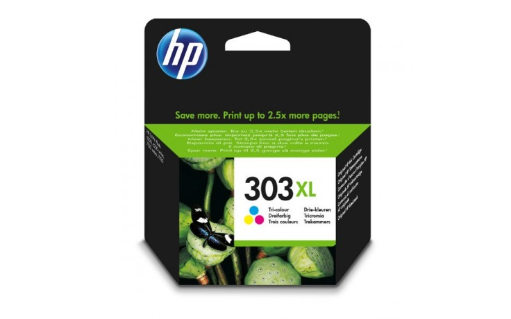 HP T6N03AE 303XL INK JET TRICROMIA