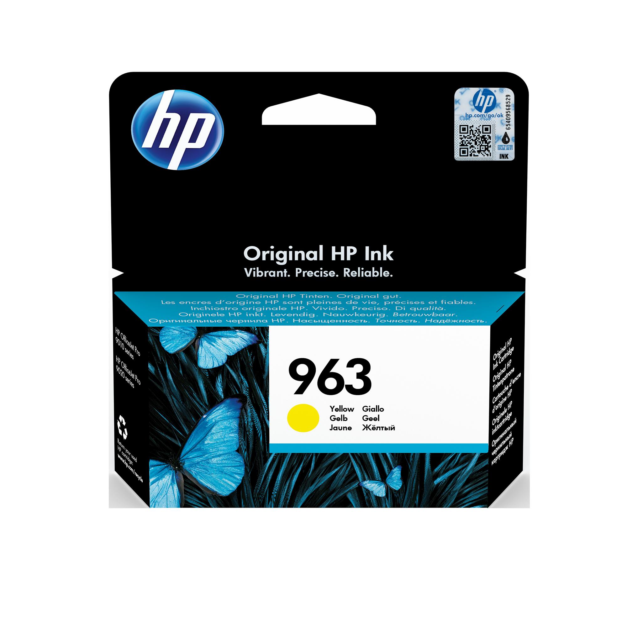 HP 3JA25AE 963 CARTUCCIA GIALLO BLISTER