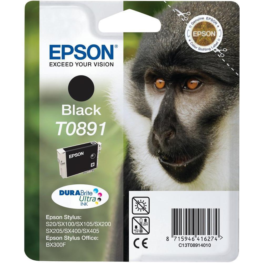 EPSON SS20 T08914021 INK JET NERO