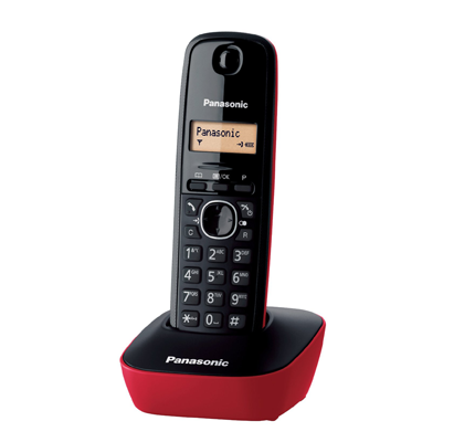 Panasonic Cordless KX-TG1611JTR Rosso