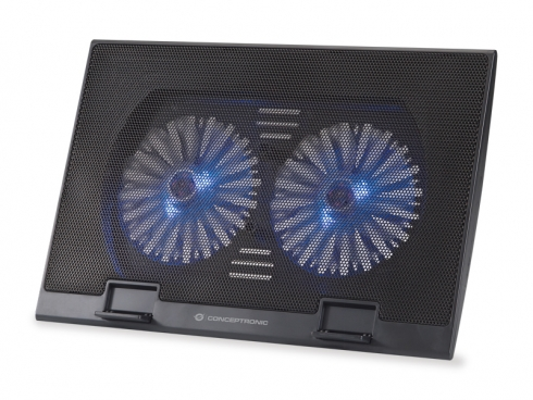 CONCEPTRONIC COOLING PAD 2 VENTOLE