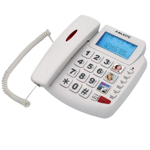 MAJESTIC TELEFONO FISSO BILLY-200 WH