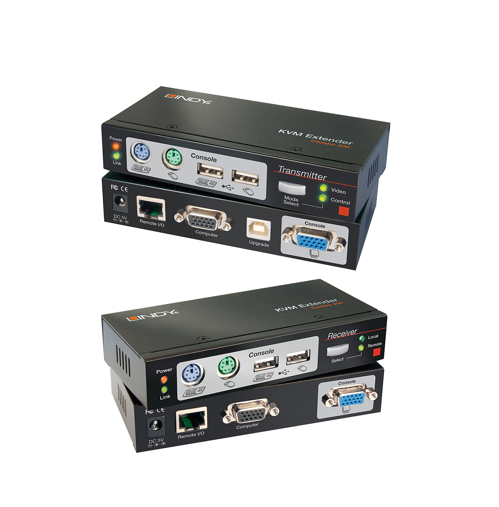 Lindy Extender KVM Cat.5 PS/2, USB & VGA