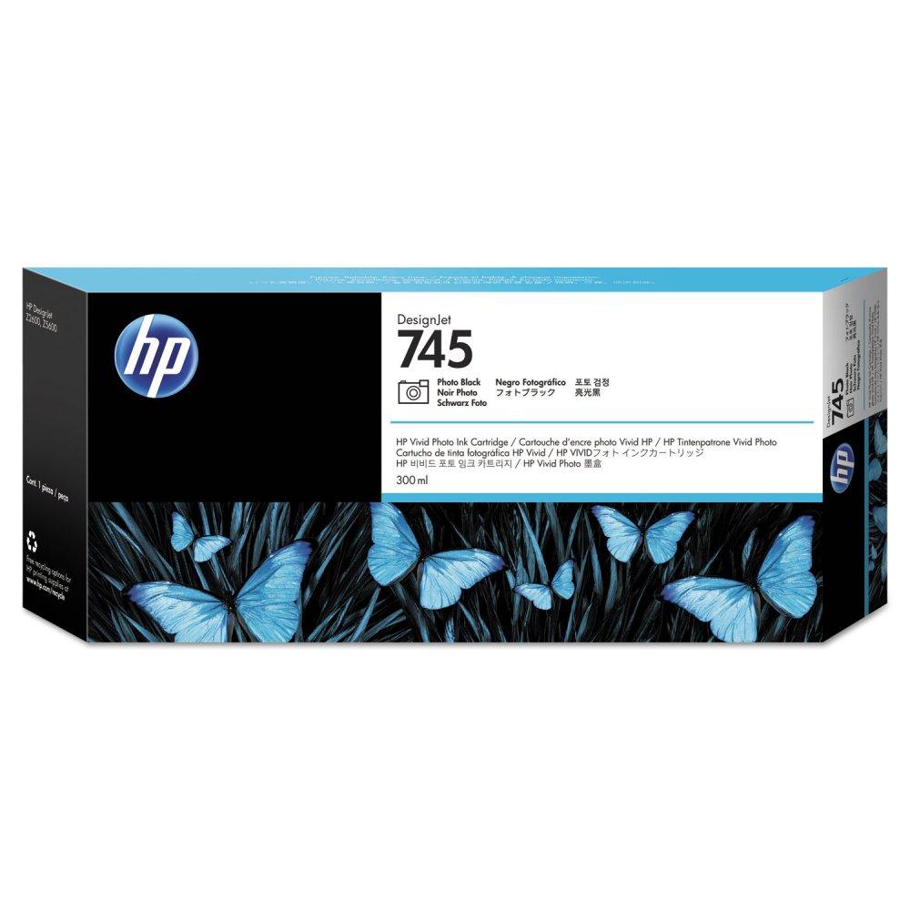 HP F9K04A HP 745 INK PHOTO BK CARTRIDGE