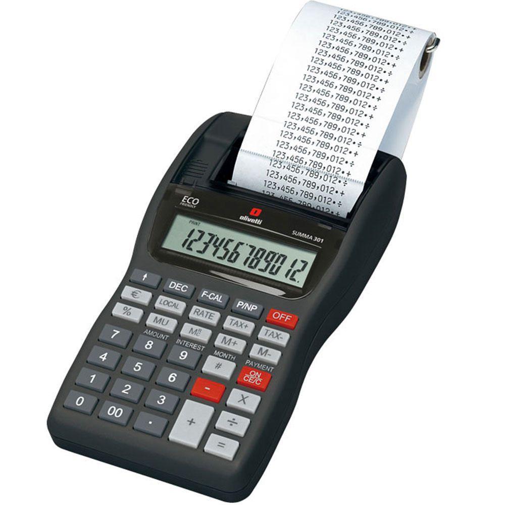 Olivetti Calcolatrice Summa 301
