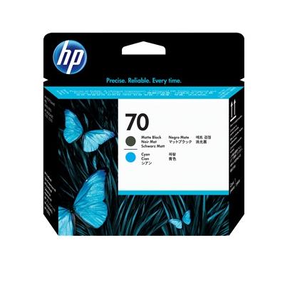 HP C9404A N70 TESTINA NERO OPACO E CIANO