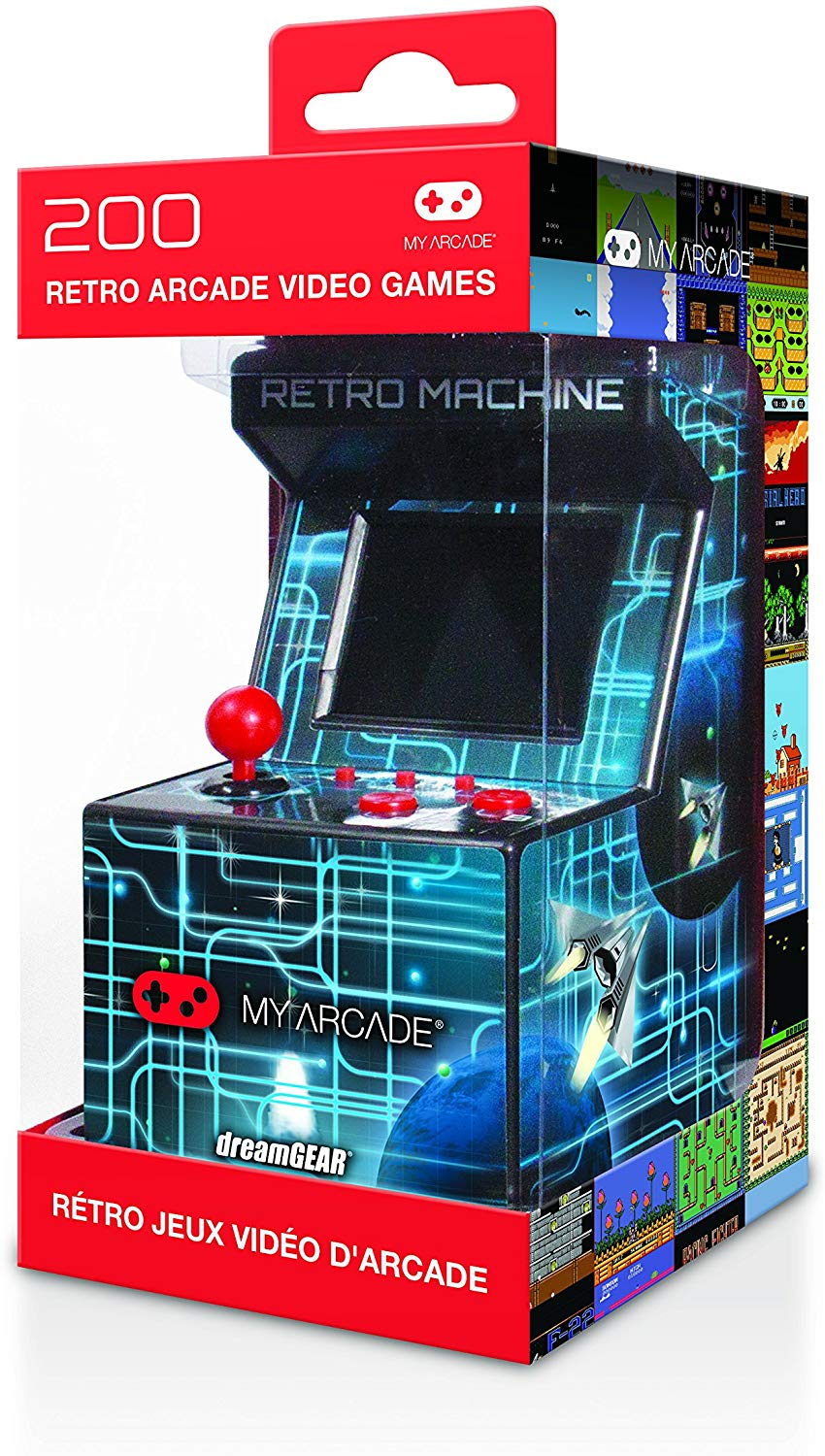 MYARCADE - RETRO MACHINE 200 GAMES