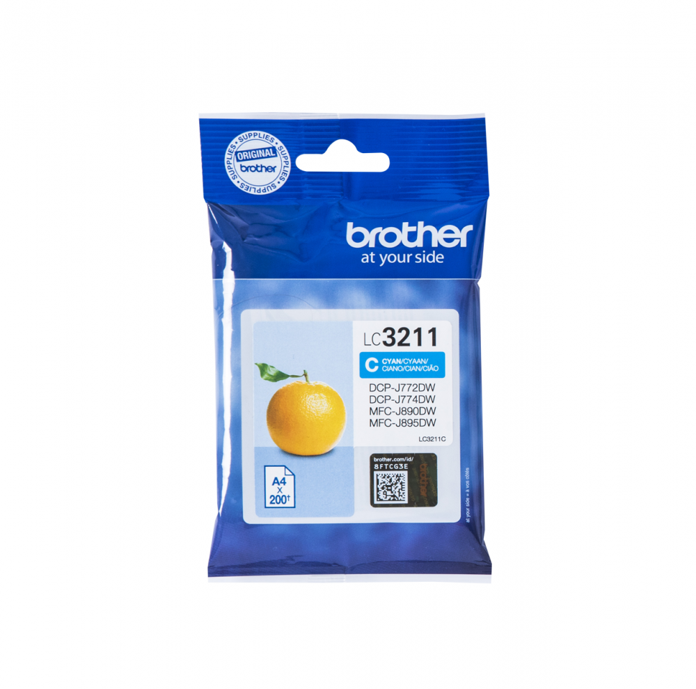 BROTHER LC-3211C INK JET CIANO