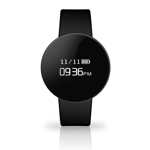 TECHMADE smartwatch BLACK