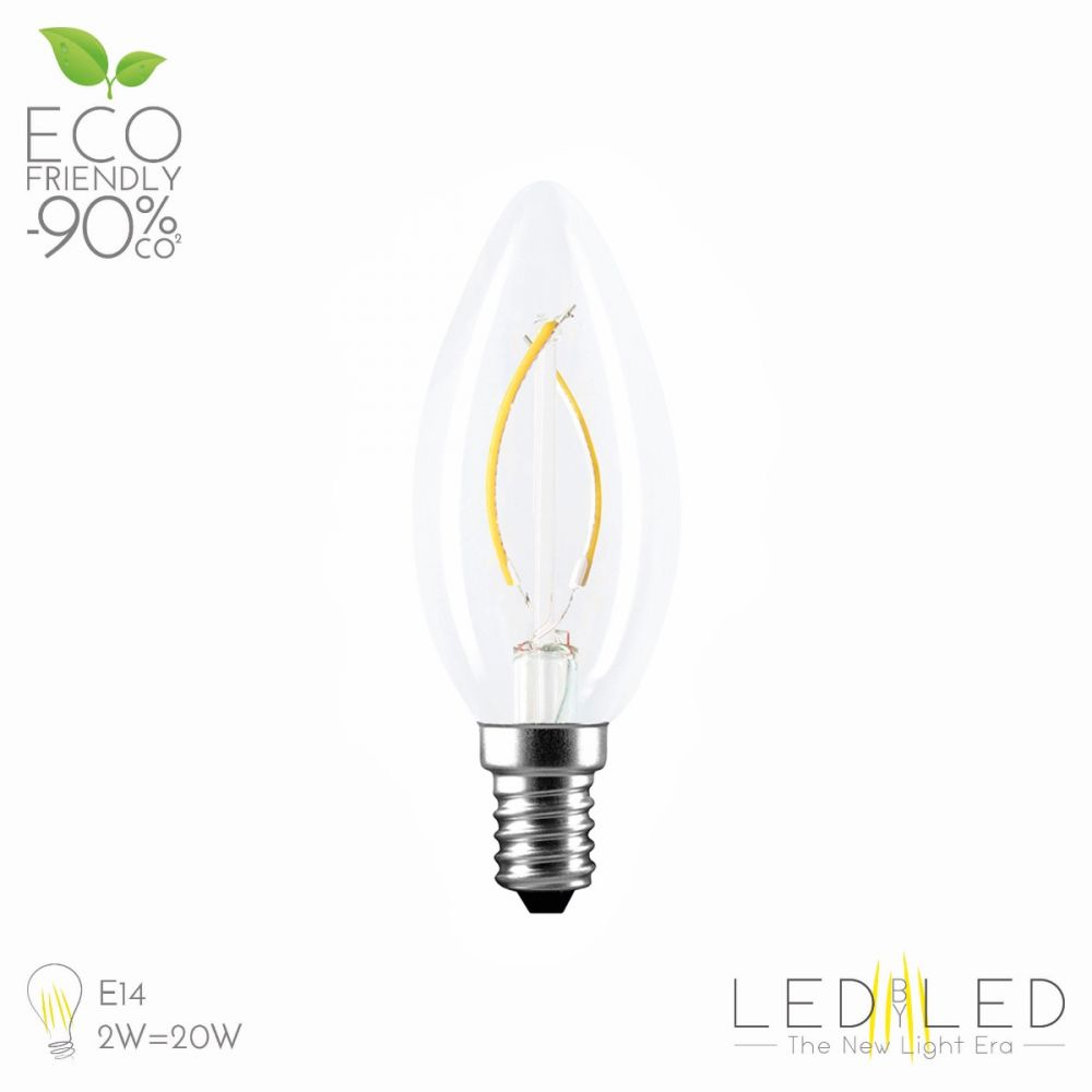 LEDBYLED FIELD OLIVA CLEAR 2700K E14 4W