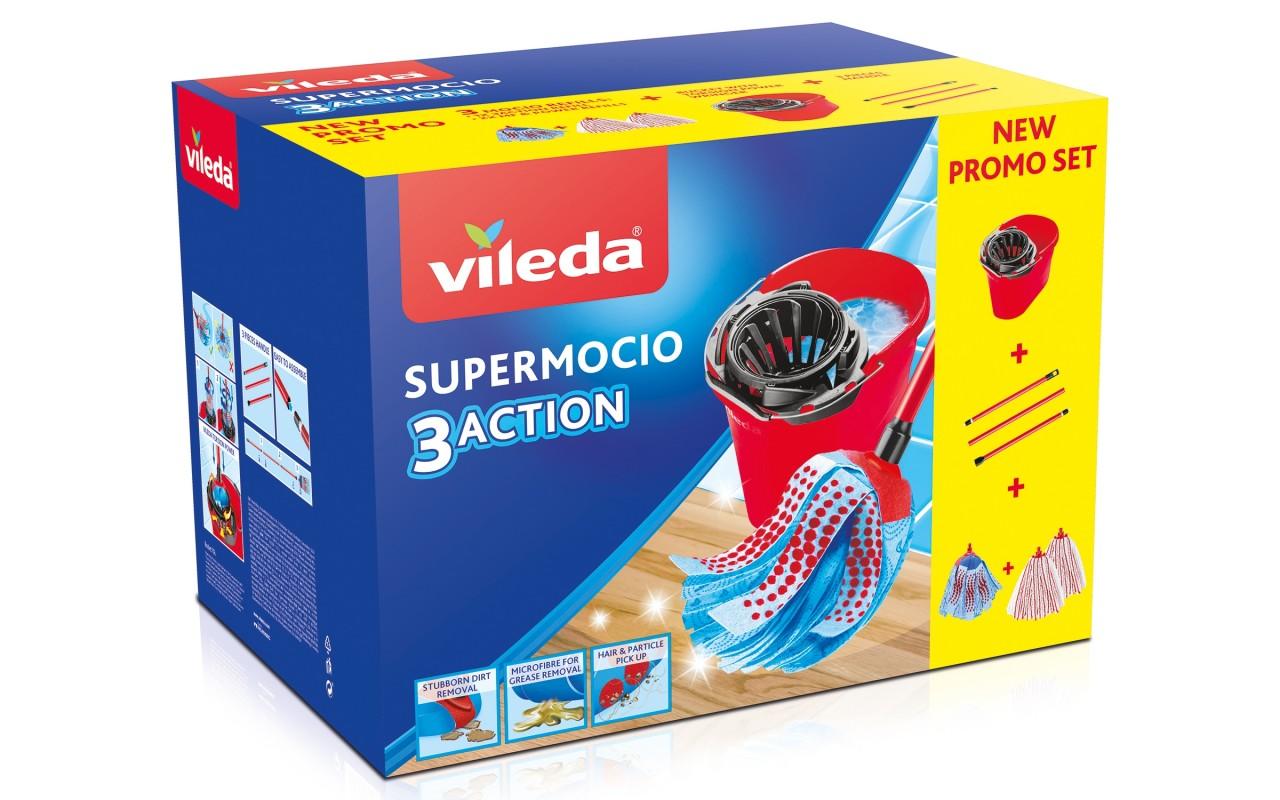 VILEDA SUPERMOCIO BOX 3 RICAMBI