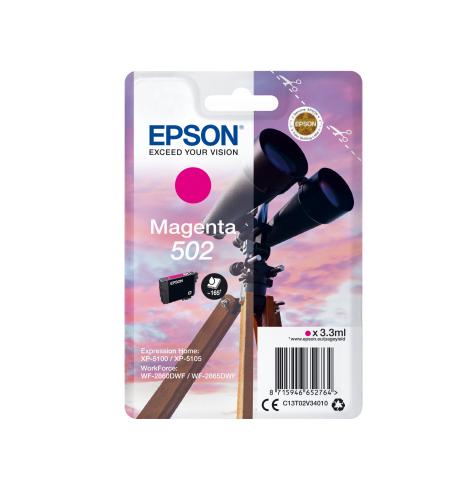 EPSON 502 T02V34010 INK JET MAGENTA