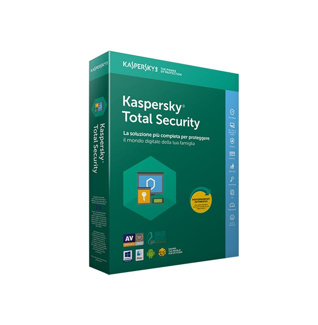Kaspersky Total Security 3 User 1 Year