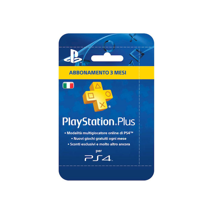 SONY PLAYSTATION PLUS CARD HANG 90DAYS