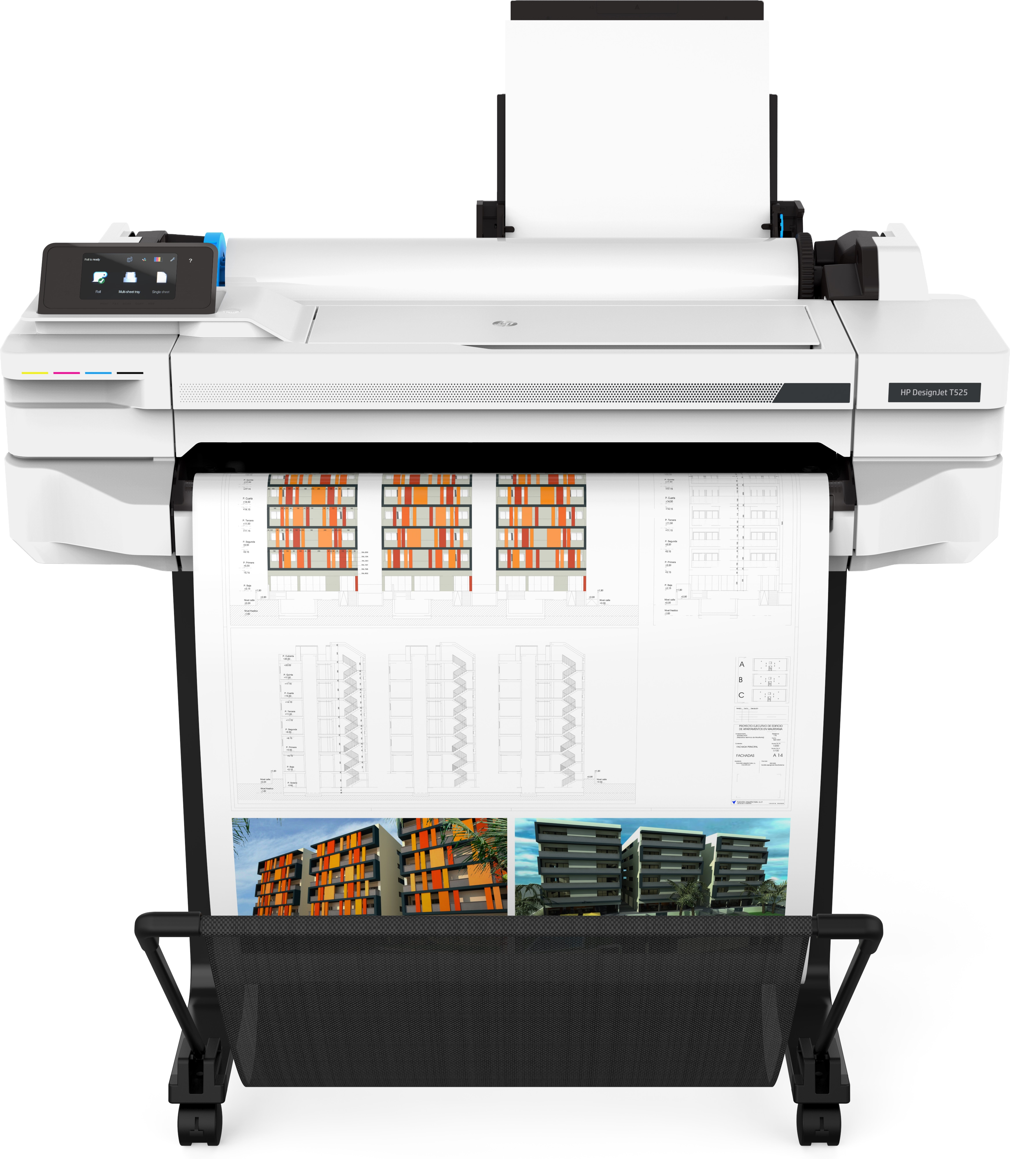 HP Stampante Designjet T525 24-InPrinter