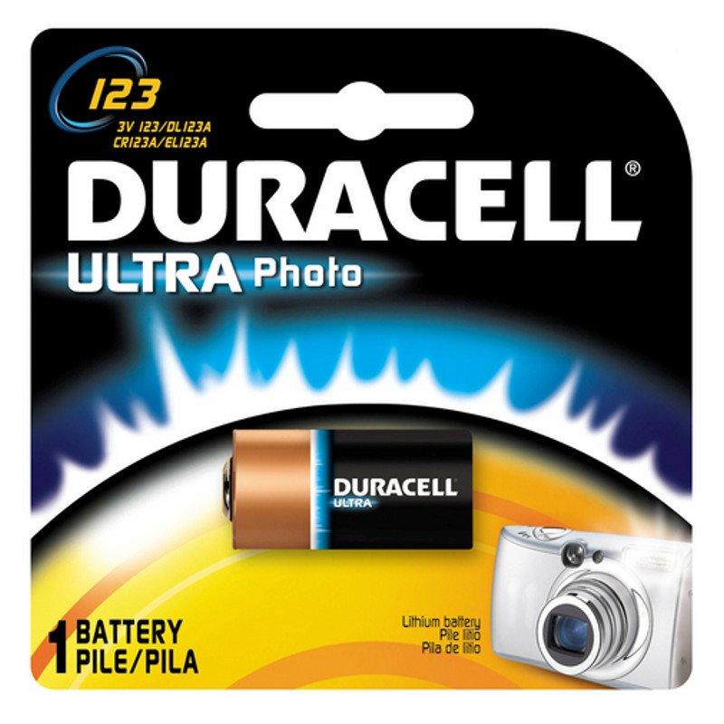 DURACELL CR123A - 3volt -