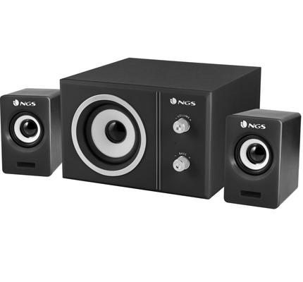 NGS Sugar completo sistema audio 2.1 20w