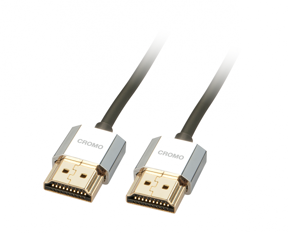 Lindy Cavo Slim HDMI High Speed CROMO 1M