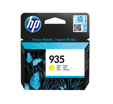 HP C2P22AE#301 935 INK JET GIALLO BLISTE