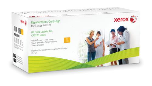 Xerox Comp Ce742a Toner Giallo Xrc