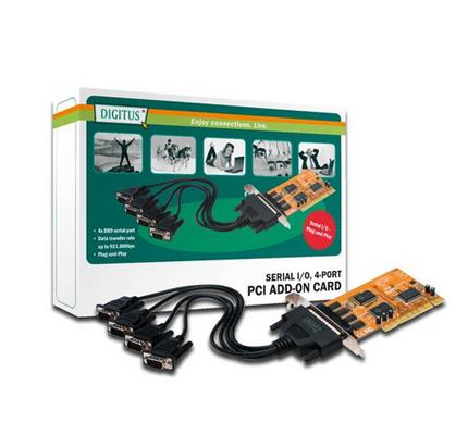 DIGITUS SCHEDA SERIALE RS232 PCI 9 POLI