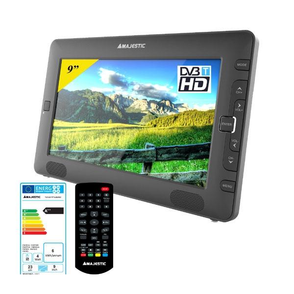 MAJESTIC TV PORTATILE 9 DVB-T / T2 BK