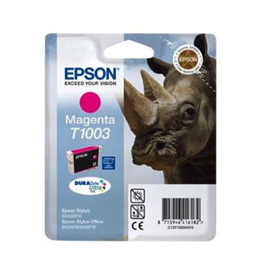 Epson Sob40w T10034010 Ink Jet Magenta