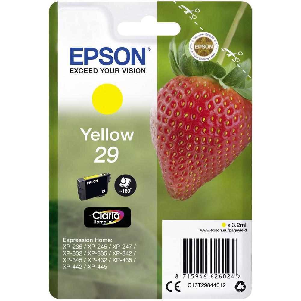 EPSON T29844012 INK GIALLO CLARIA