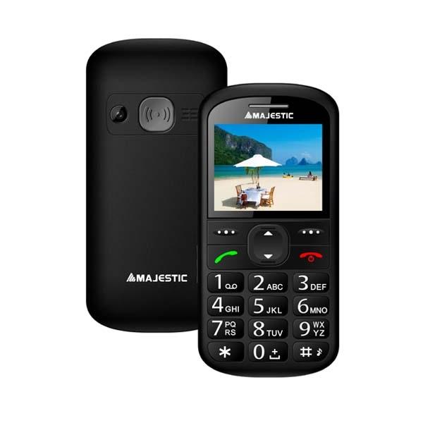MAJESTIC SENIOR PHONE TLF-SILENO 31 BK