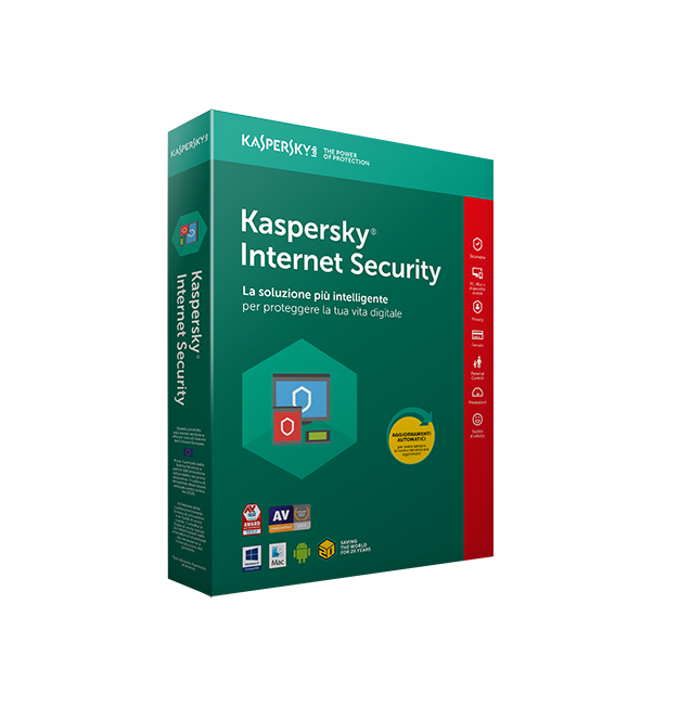 Kaspersky Int. Sec. 2019 ita 1User 1Y R